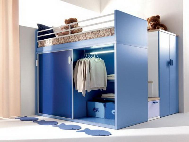 Using versatile items to minimize the use of space room.