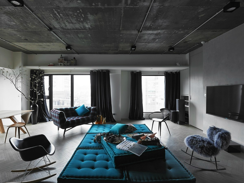use a grey color for the industrial theme.