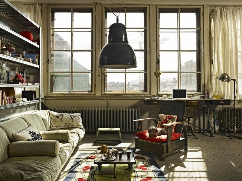using big windows for the living room.
