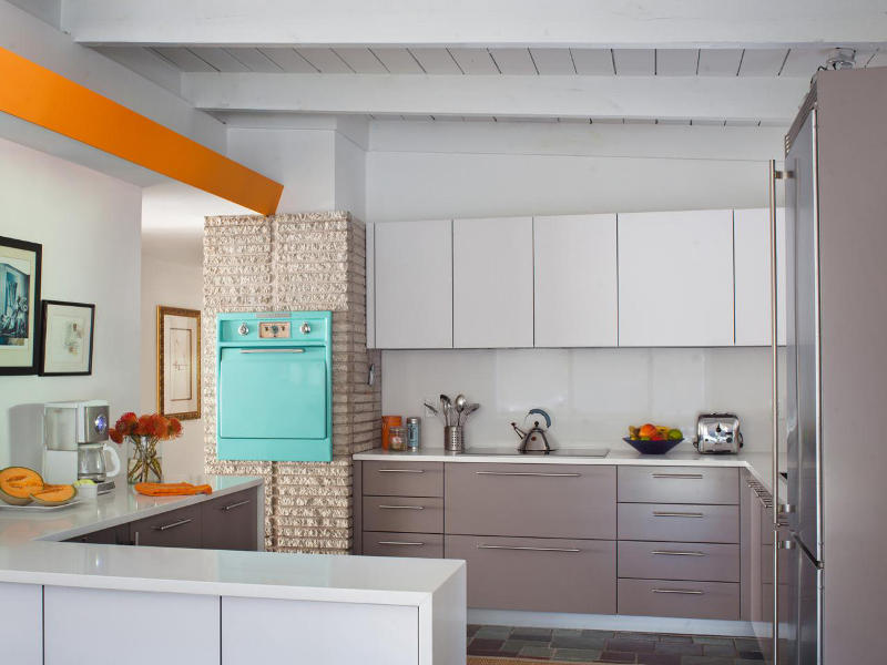 pastel colors for kitchen.