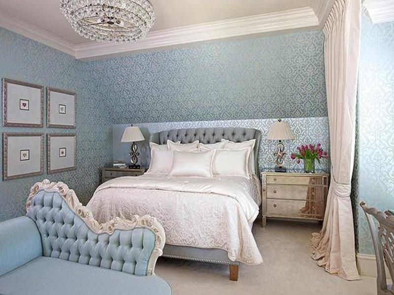 Pastel colors for bedroom.