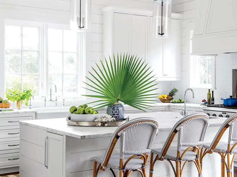 only use one plant can make your kitchen beautiful.