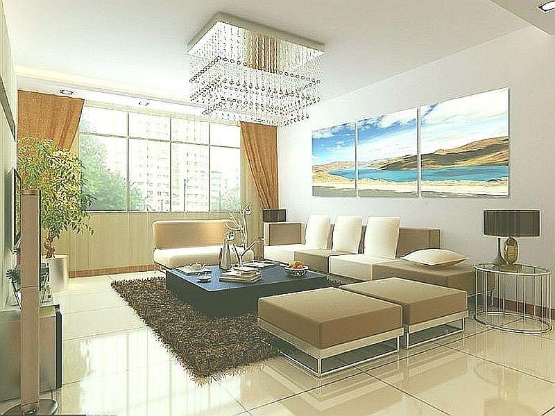 rectangular pendant lamp for beautify the living room.