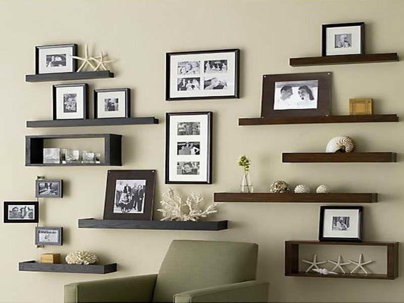 floating shelves for room.