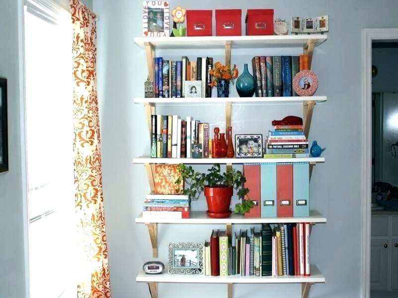 The shelves for you put your books neatly arranged.