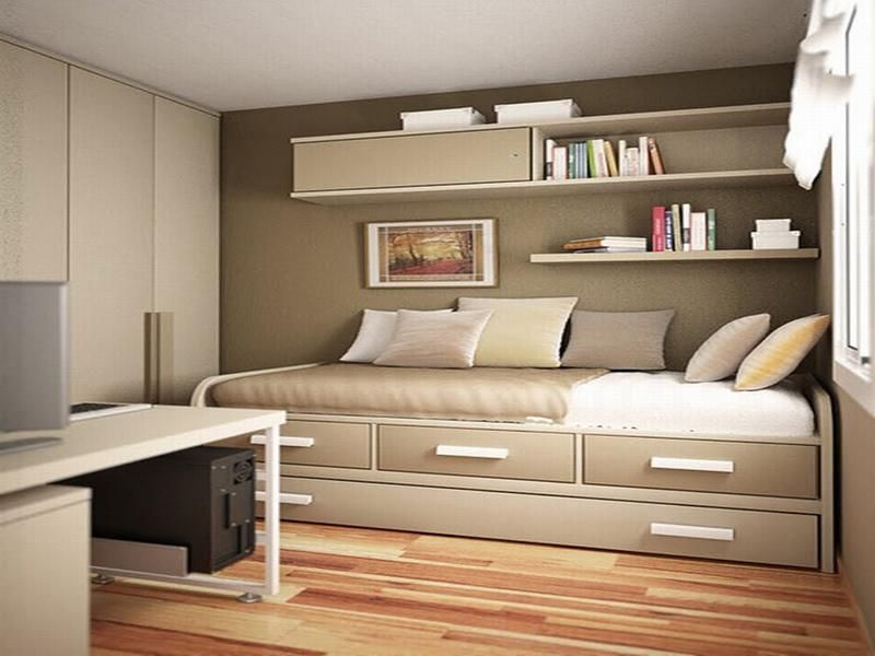 double-duty bed for the minimalist bedroom.