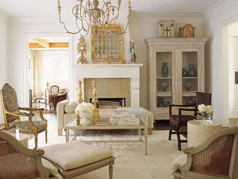 amazing french style living room.