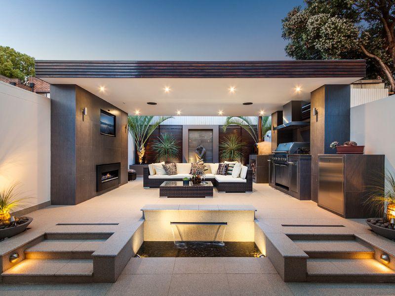 luxury the barbecue garden