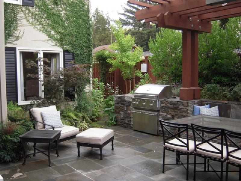 simple design for garden.