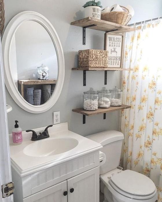 Bathroom Floating Shelves Design Ideas