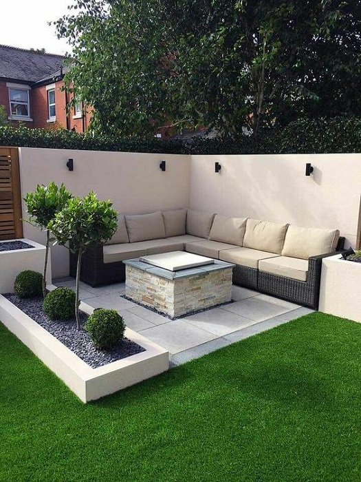 The Most Attracting Stylish Modern Mini Garden Design Ideas