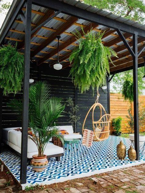 Find Rustic Backyard Garden Design With Marvelous Garden Decor Ideas