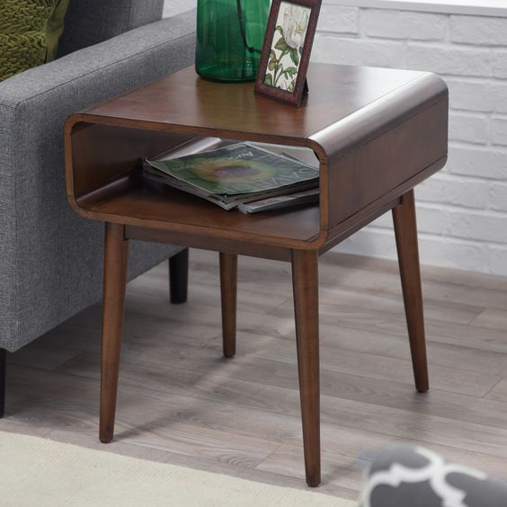 How To Decorate Mid century Side Table Home Decor? Get Smart Ideas And Tips To Fill Empty Space