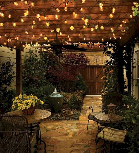 Small Garden Lighting Design