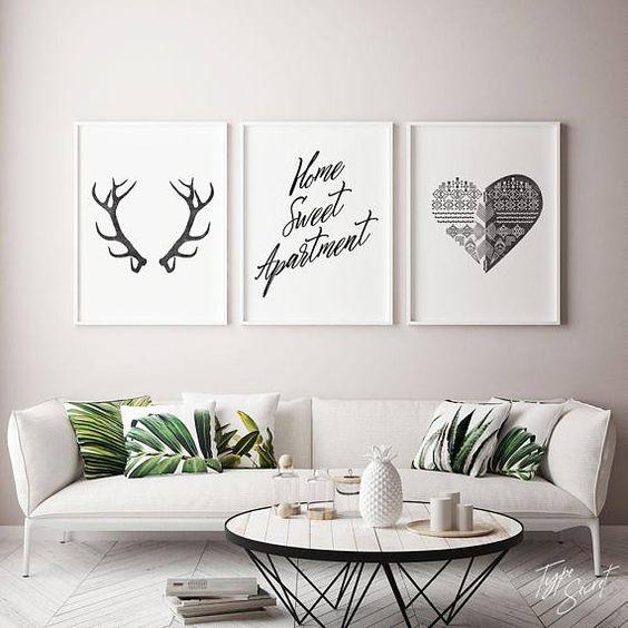 Applying Wall Art Decor For Living Room To Make It More Stunning And Enchanting