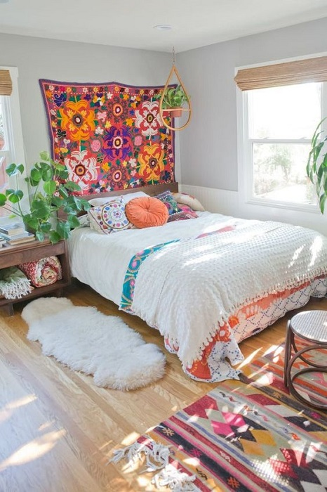 Inspiring And Modern Ways To Create Bohemian Bedroom Design Decor Including Chic Ideas