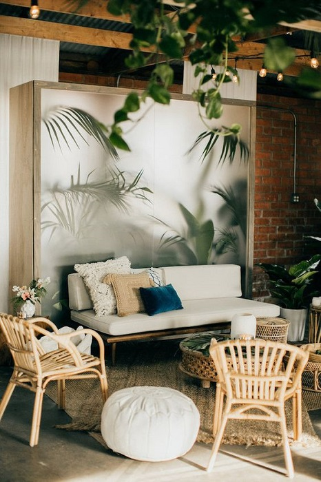 Indoor Tropical Interior Design Ideas