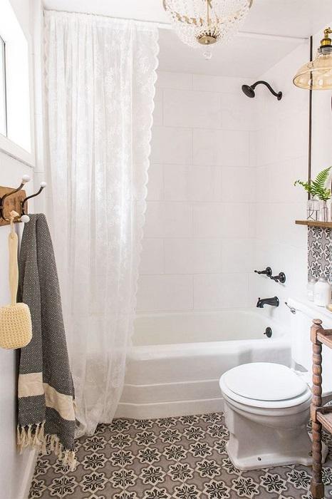 Modern Shower Curtain Design
