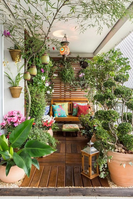 The Best 10 Cozy Balcony Garden Design Ideas | Simdreamhomes