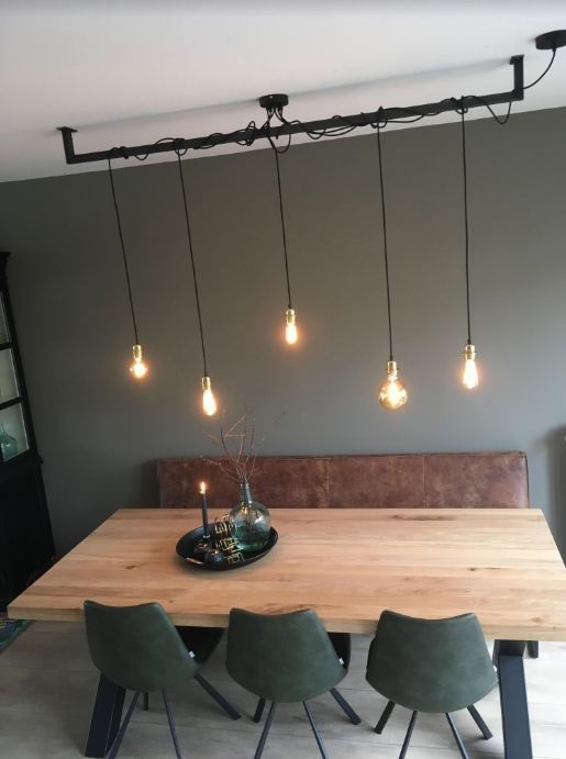 Applying One Of Industrial Dining Room Design Ideas Will Bring Luxury And Classy Appearance
