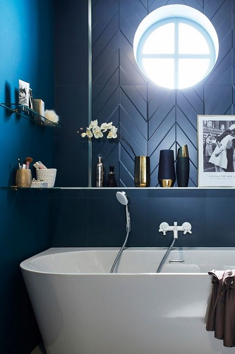 Applying Blue Color Shades For Modern Home Interior Design Will Make Fall In Love