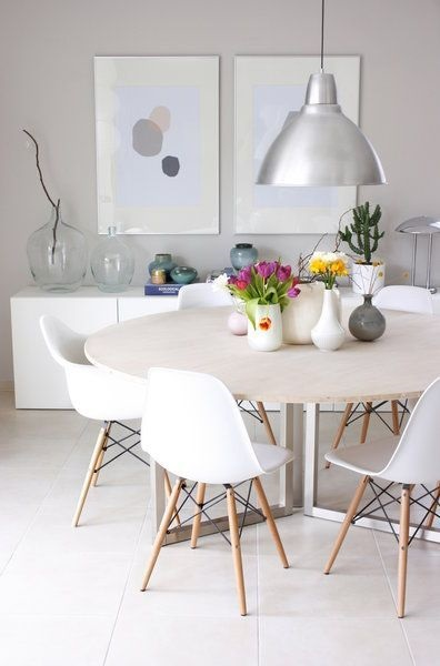 Top 15 Modern Round Dining Table Design Ideas Beautified With Classic And Elegant Look