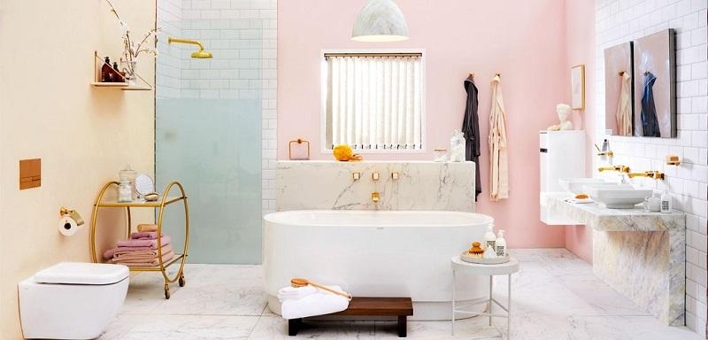 . 15 Attracting Pastel Bathroom Interior Design Ideas   Simdreamhomes