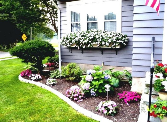 Smart Ways To Build Beautiful Small Front Yard Landscaping Garden To Beautify Your Home Exterior