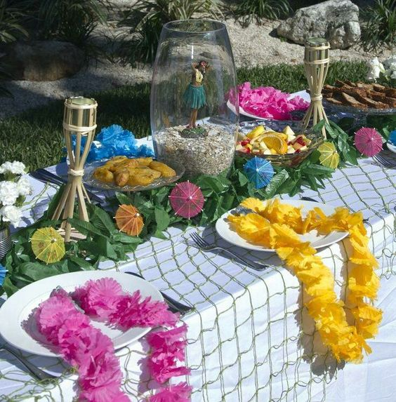 dining table garden party