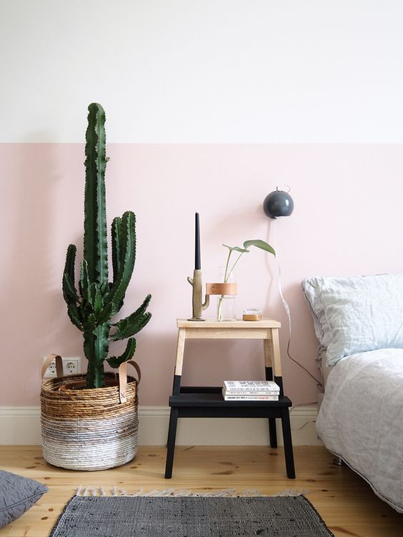 dual mix pink wall paint
