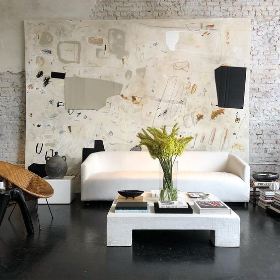 large-scale painting for beautiful room