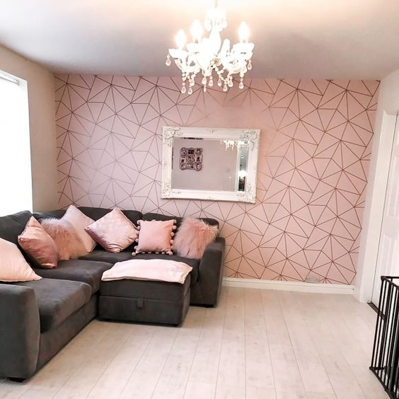 rose pink wall paint