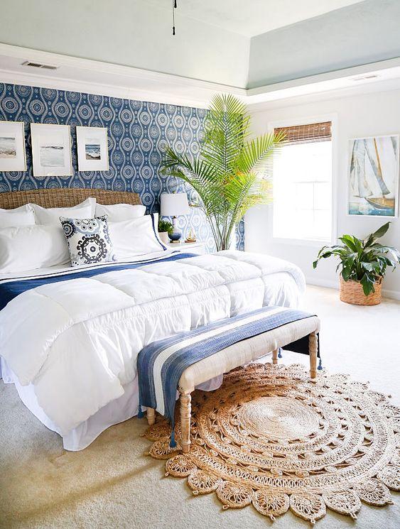 beautiful coastal bedroom design
