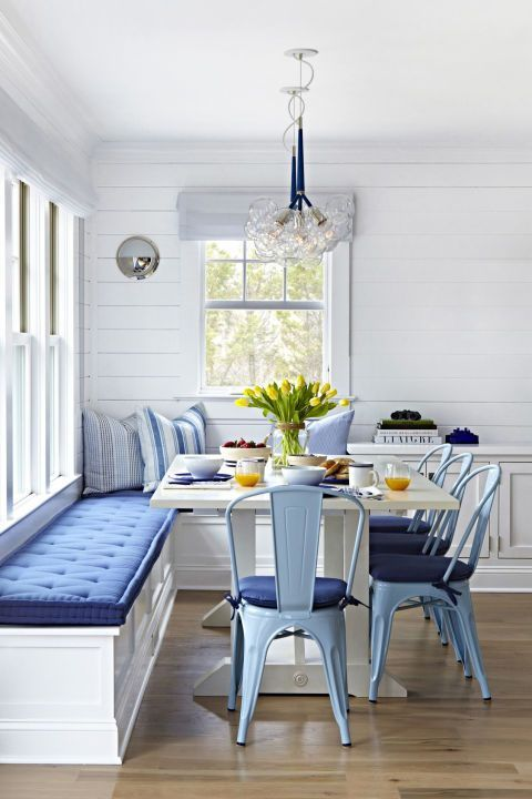 beautiful coastal dining room