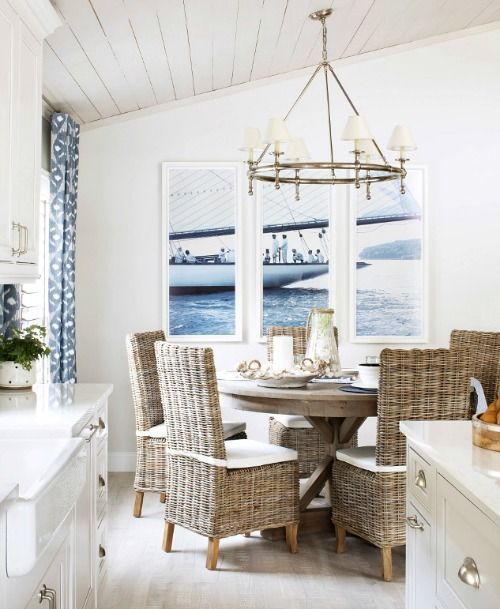 coastal dining room design