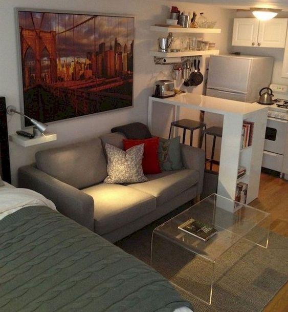 cozy tiny apartment decors