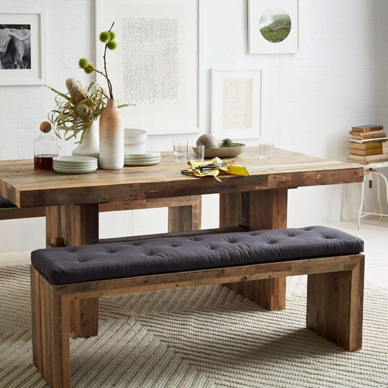 bench dining room