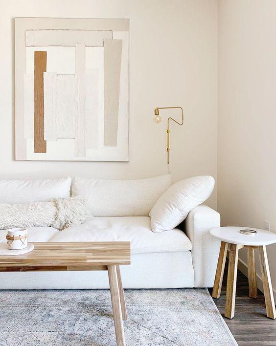 warm ambiance minimalist scandinavian