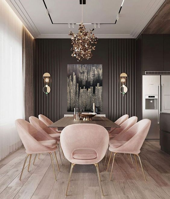 abstract painting for dining room