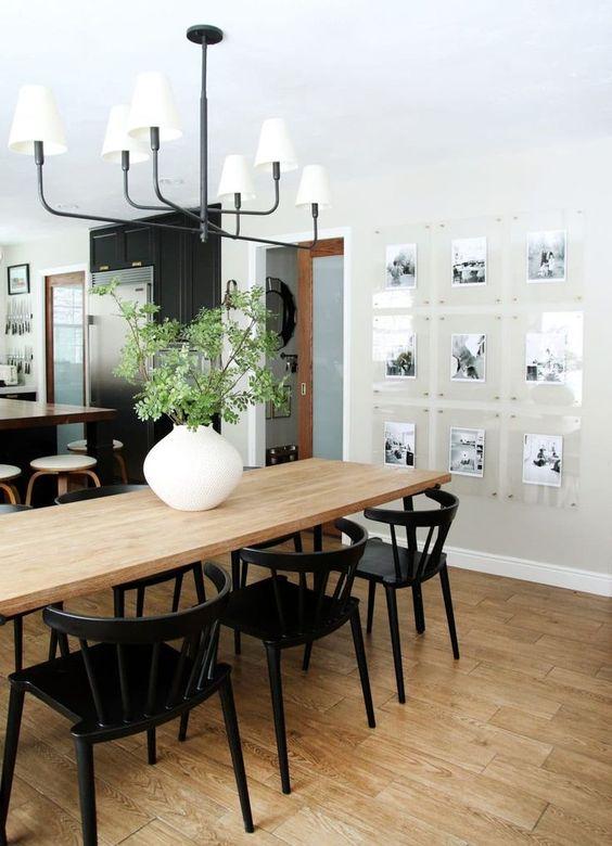 memories wall dining room