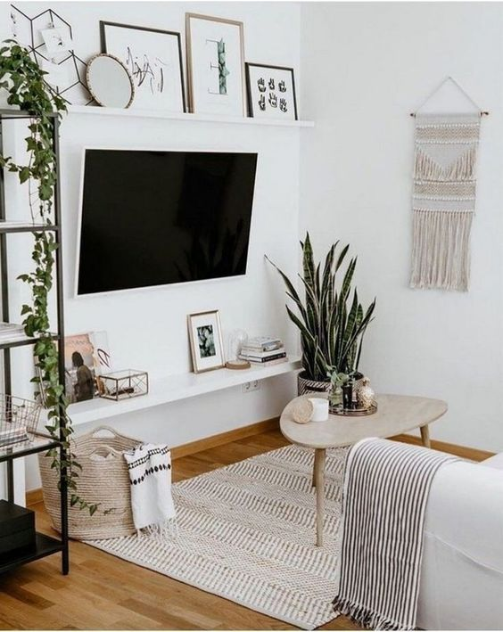 Fresh Scandinavian Small Living Room