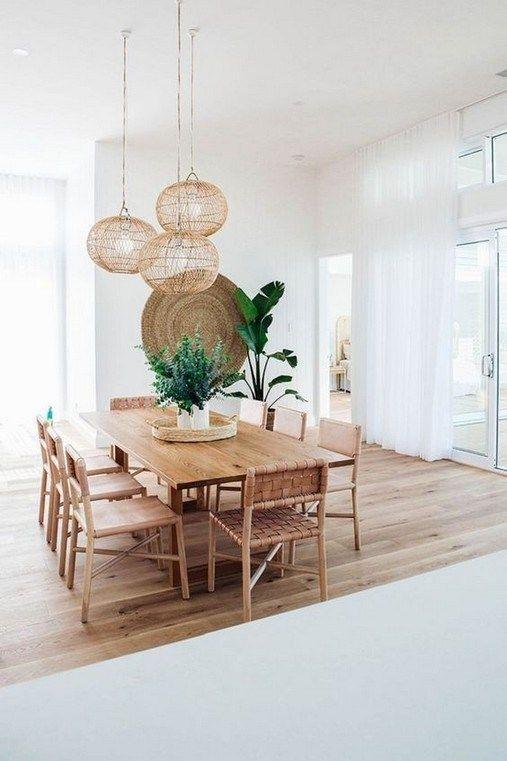 comfortable japanese scandinavian dining room ideas