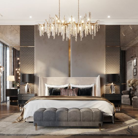 luxurious bedroom ideas