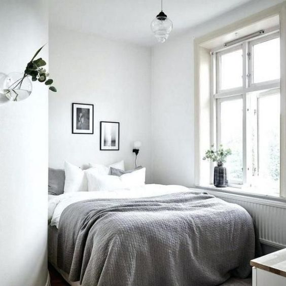small bedroom lighting decor