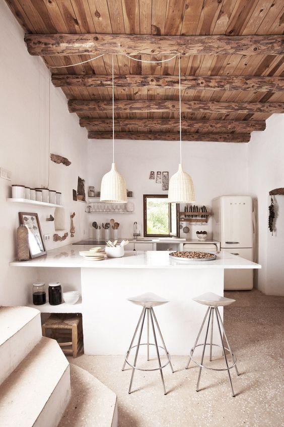 rustic minimalist home