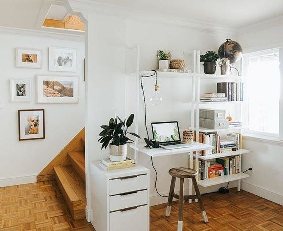 minimalist house with Scandinavian Design