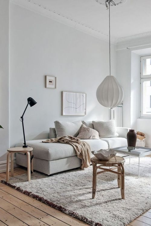 Scandinavian Living Room Decorations