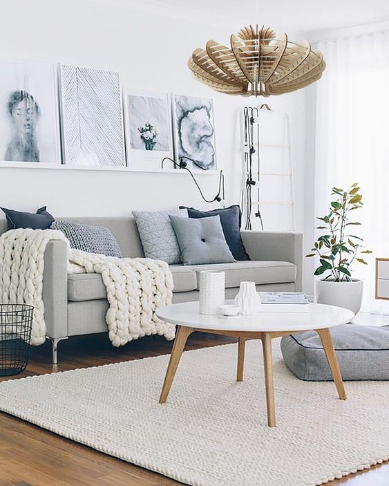 Scandinavian Small Living Room Furniture