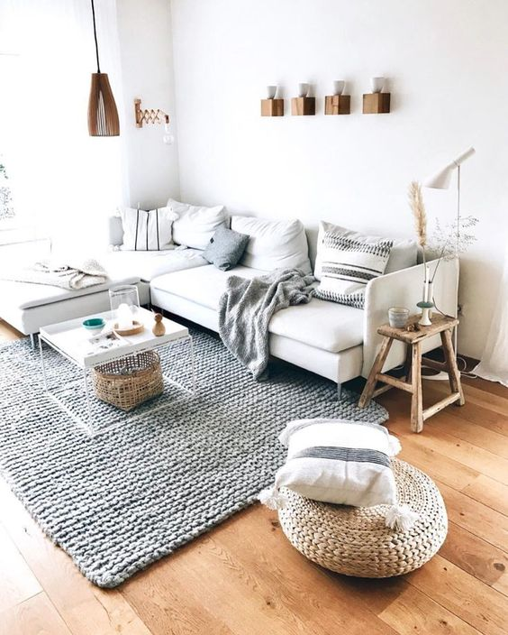 Modern Scandinavian Small Room