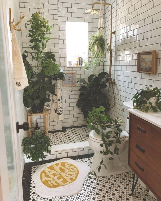 fresh small bathroom decors